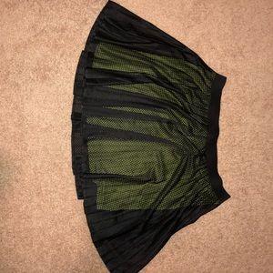Dresses & Skirts - BLACK AND NEON SKATER SKIRT
